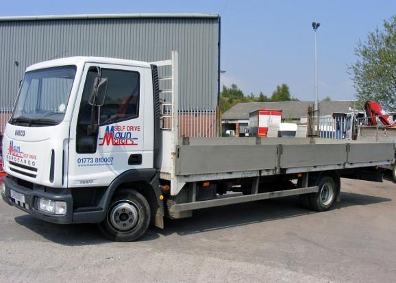 7-5 tonne Dropside Lorry Truck Rental