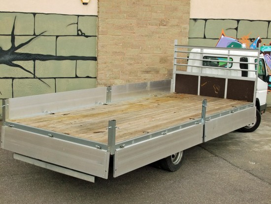 7-5 tonne Fuso Canter Dropside Rental 04