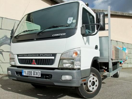 7-5 tonne Fuso Canter Dropside Rental 05