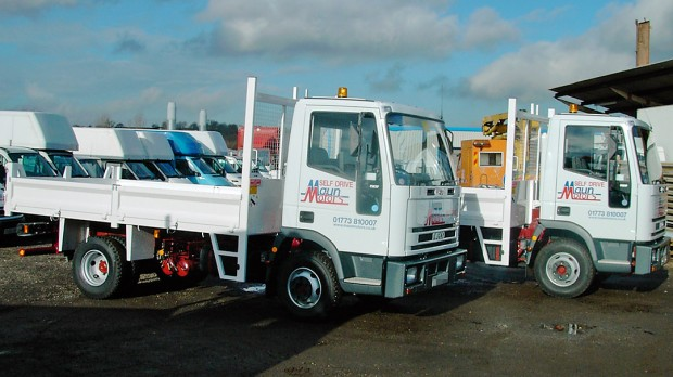 7-5 tonne Tipper Lorry Rental 02