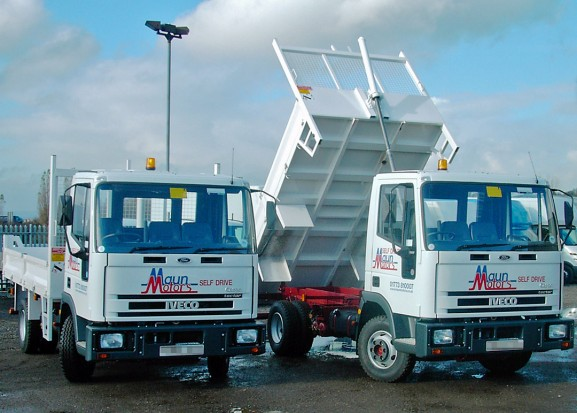 7-5 tonne Tipper Lorry Rental 03