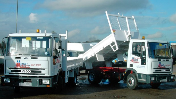 7-5 tonne Tipper Lorry Rental 04