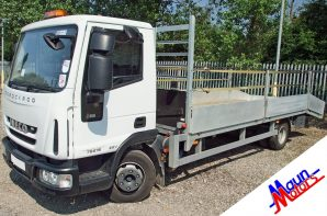 Beavertail lorry hire from Maun Motors Self Drive