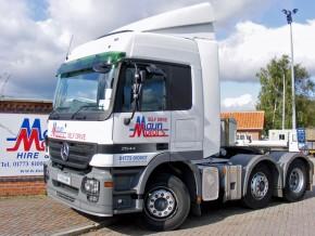 6x2 44 tonne Mercedes-Benz Actros Euro 5 Tractor Unit Rental