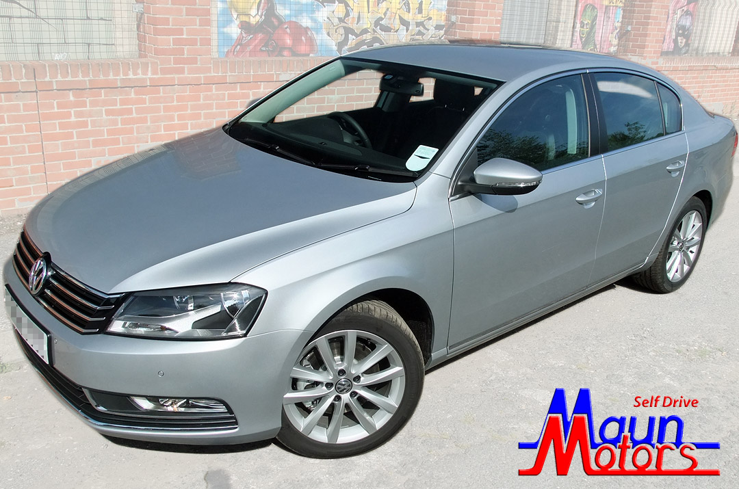 Car Hire - Luxury 4-Door Saloon - e.g. Volkswagen Passat BlueMotion