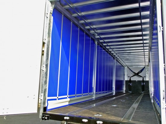 Curtain Side Trailer Hire - Tri-Axle 40 foot Trailer Rental 23