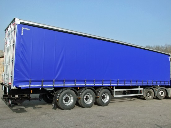 Curtain Side Trailer Hire - Tri-Axle 40 foot Trailer Rental 25