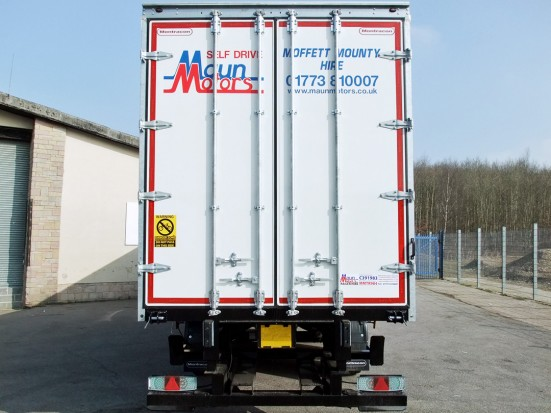 Curtain Side Trailer Hire - Tri-Axle 40 foot Trailer Rental 26