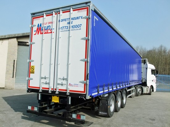 Curtain Side Trailer Hire - Tri-Axle 40 foot Trailer Rental 28