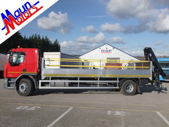 DAF 18t Rear Mount Dropside with HMF_04a