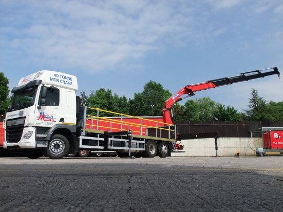 DAF 26t Rear Mount Flatbed with HMF_20