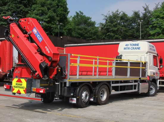 DAF 26t Rear Mount Flatbed with HMF_27