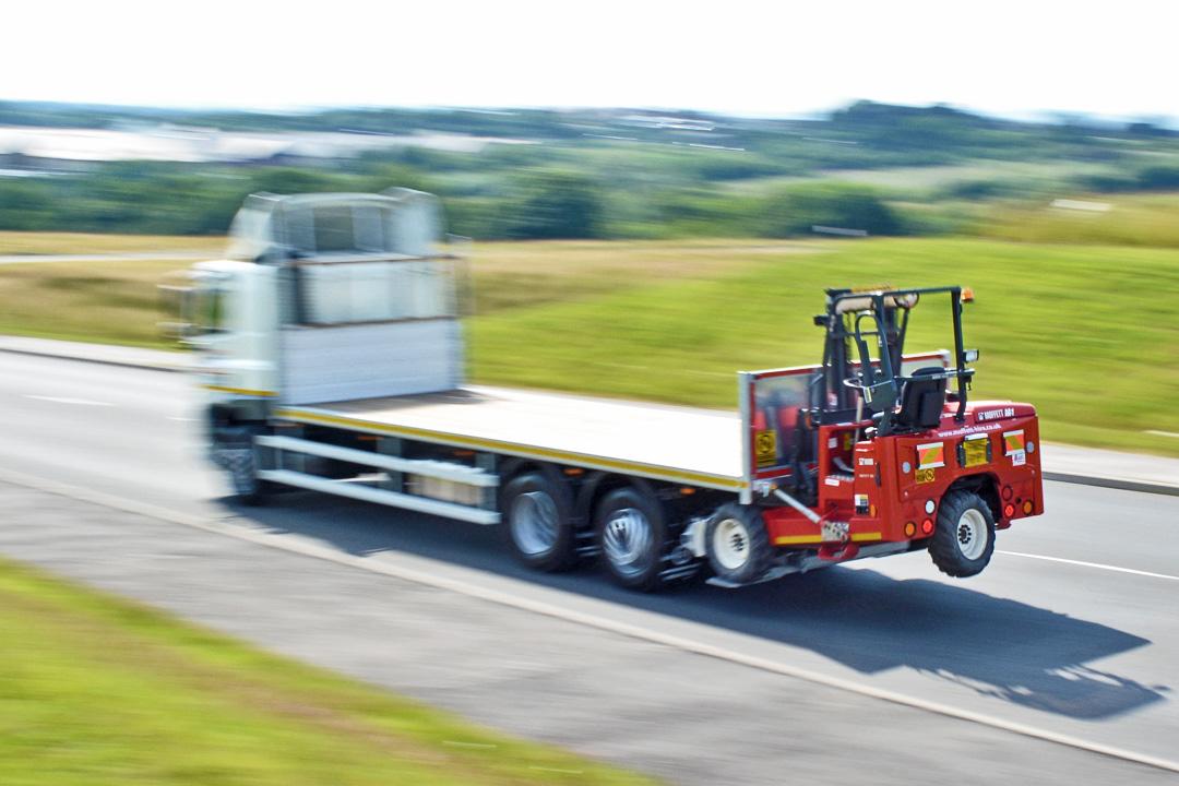 Moffett Hire - Moffett M8 Lorry Mounted Fork Lift Truck Rental from Maun Motors Self Drive hire