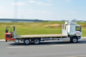 Flatbed Moffett Lorry Hire