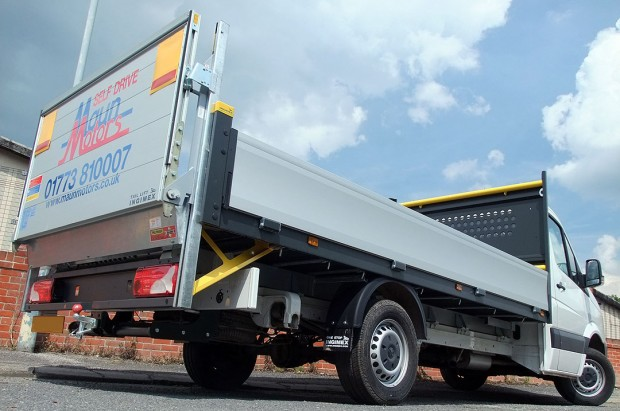 Dropside Tail Lift Towbar Tachograph 3T Rental 02