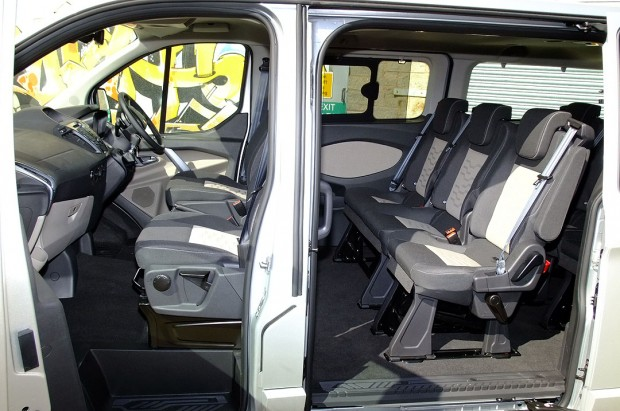 Ford Tourneo Custom 9 Seat Rental 04
