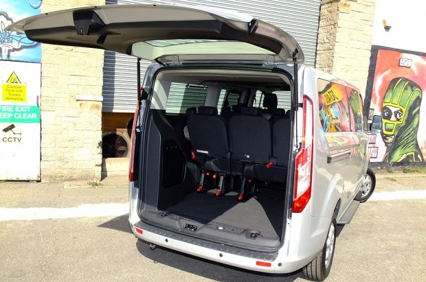 Ford Tourneo Custom 9 Seat Rental 07
