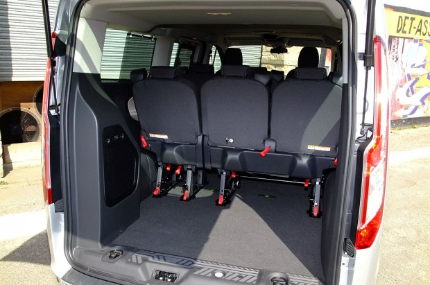 Ford Tourneo Custom 9 Seat Rental 08