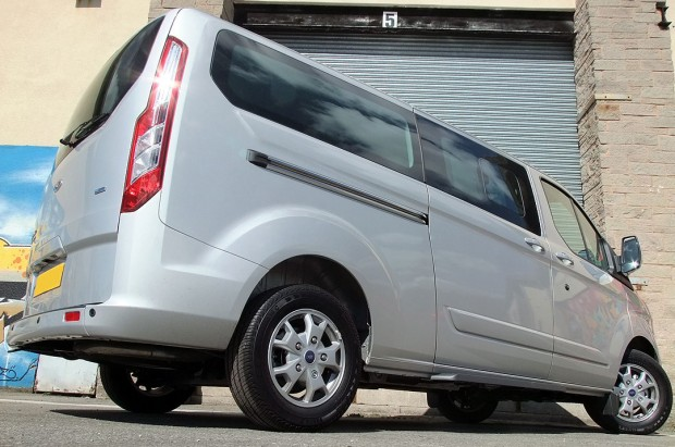 Ford Tourneo Custom 9 Seat Rental 12