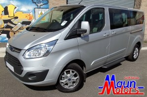 Ford Tourneo Custom 9 Seat Rental from Maun Motors Self Drive Luxury Minibus Hire