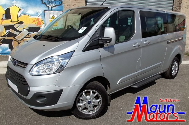 Ford Tourneo Custom 9 Seat Rental