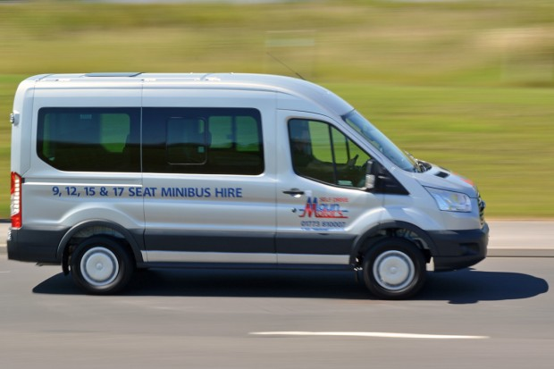 PSV 12 Seat Minibus Hire from Maun Motors Self Drive - PSV Minibus Rental available