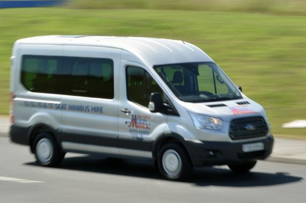 Ford Transit 12 Seat Minibus hire 09