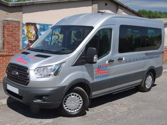 Ford Transit 12 Seat Minibus - with logo_HIRE_01