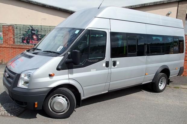 Ford Transit 17 Seat Minibus Rental 02