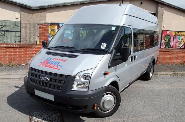 Ford Transit 17 Seat Minibus Rental 04