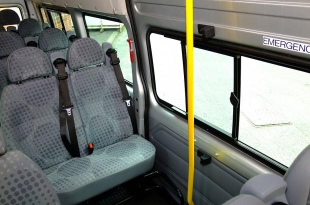 Ford Transit 17 Seat Minibus Rental 05