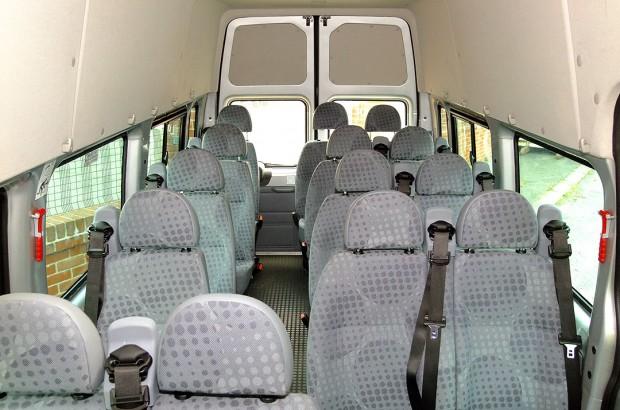 Ford Transit 17 Seat Minibus Rental 06