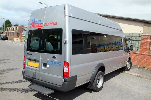 Ford Transit 17 Seat Minibus Rental 09