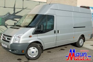 Large van hire - Ford Transit EL Jumbo XL Panel Van Rental from Maun Motors Self Drive van hire XLWB long wheelbase