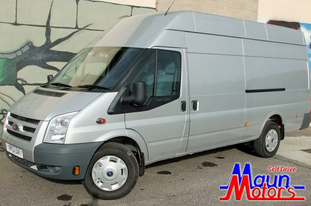 Ford Transit EL Jumbo Panel Van Rental