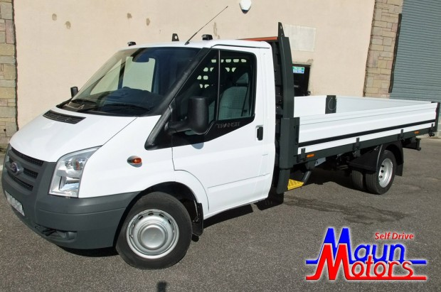Ford Transit LWB Dropside Rental
