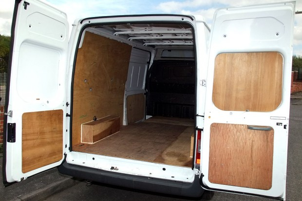 Ford Transit LWB Medium Roof Panel Van Rental 03