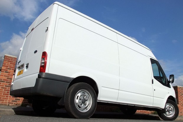 Ford Transit LWB Medium Roof Panel Van Rental 05