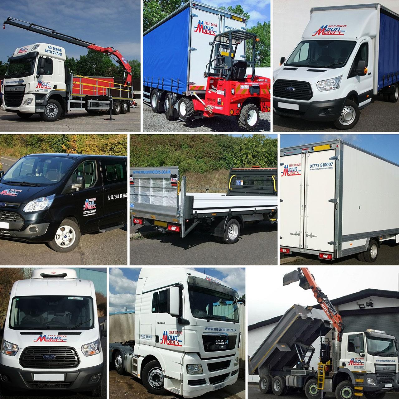 Cole Hire Self Drive Vans: Van Hire South Normanton