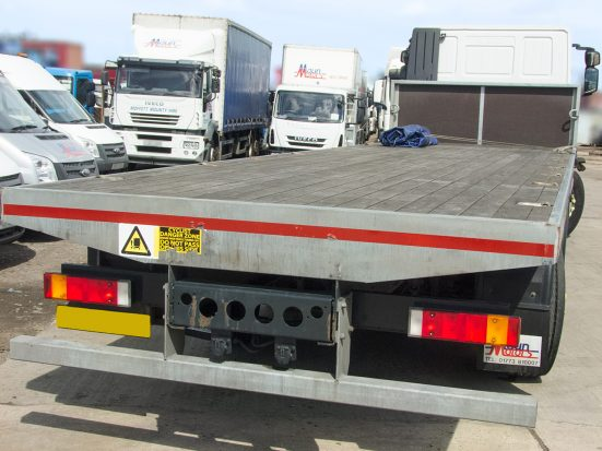 Iveco Stralis 26t Flatbed - 2014 - no Logo _HIRE_11z