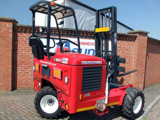 Moffett M8 Truck Mounted Fork Lift Rental 05