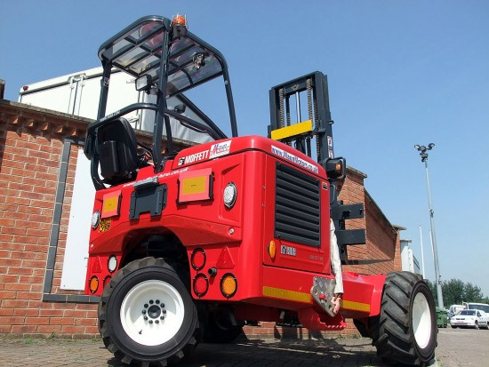 Moffett M8 Truck Mounted Fork Lift Rental 07