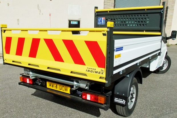 Tipper Rental Ford Transit 3-5t 11