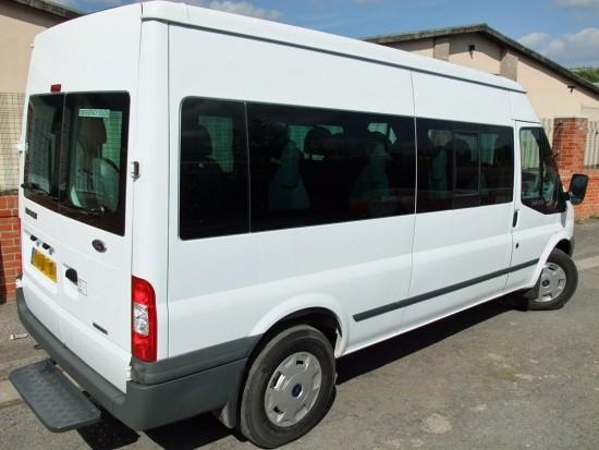 Transit 15 Seat Minibus 06