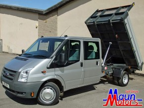 3.5 tonne Crew Cab Tipper Hire. Van Rental from Maun Motors Self Drive hire