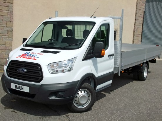 Transit Dropside 17 foot Dropside Hire 02