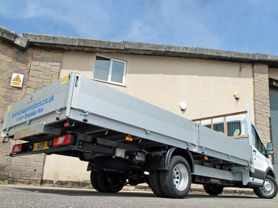 Transit Dropside 17 foot Dropside Hire 11