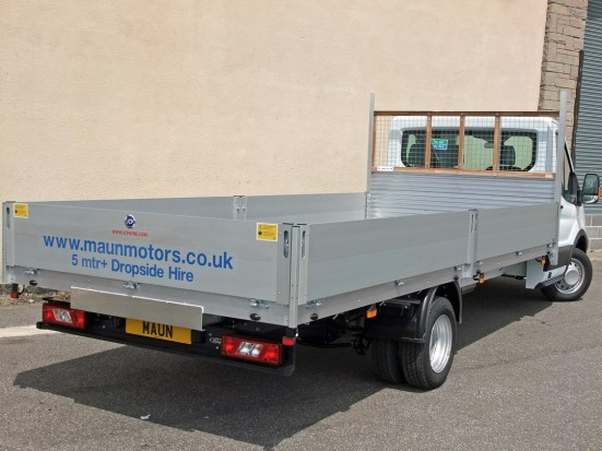 Transit Dropside 17 foot Dropside Hire 12