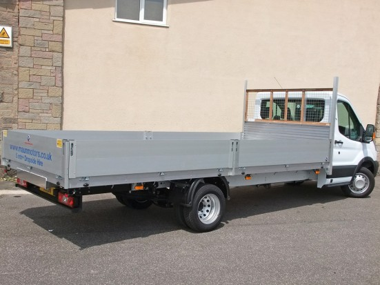 Transit Dropside 17 foot Dropside Hire 14