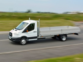 3.5 tonne Transit Dropside 5 metre 17 foot Body - 5 metre dropside - 3.5t dropside hire - long wheelbase dropside hire